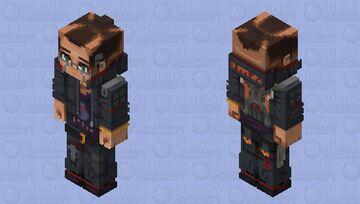 Jackie || Cyberpunk 2077 Minecraft Skin