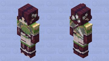 ♡ love at first sight ♡ oc Minecraft Skin
