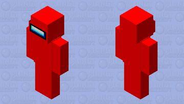 Among Us Java (Red) Minecraft Skin