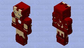 Iron Man Mark 3 [MRK3_V02] Minecraft Skin