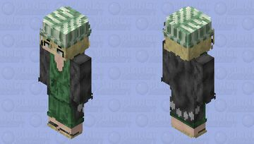 Urahara Kisuke Minecraft Skin