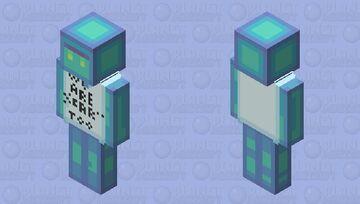 Skeletons get all the fame Minecraft Skin