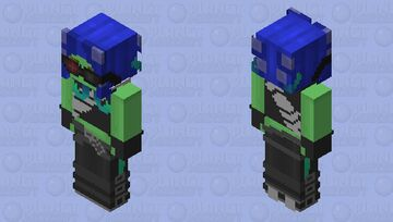 Splatoon 2: Octo Expansion - Sanitized Octoling (Not the rival ones tho) Minecraft Skin
