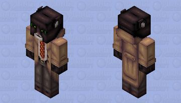 Blacksad Minecraft Skin