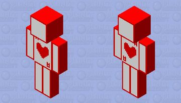 Ace of Hearts Minecraft Skin