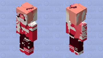 Cherri Bomb 💣 (ADDICT)| Hazbin Hotel Minecraft Skin
