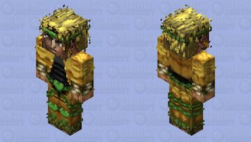 DIO「STARDUST CRUSADERS」- Jojo's Bizarre Adventure HD Skin Minecraft Skin