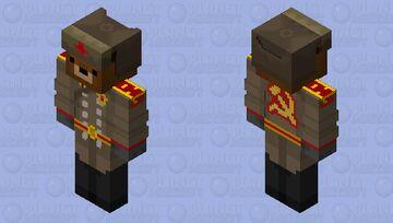 KGB Bear Officer Minecraft Skin