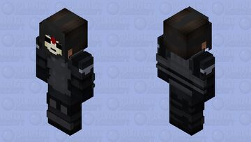 Amon (Leader of The Equalists) Minecraft Skin