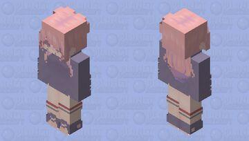 space girl Minecraft Skin