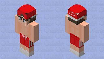 Fighter Boy Minecraft Skin