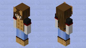 Whiteout Fanskin Minecraft Skin