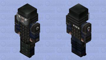 Montagne (Default)   R6S Minecraft Skin