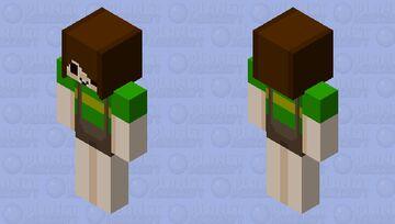 Chara (UNDERTALE) Minecraft Skin