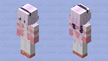 * Kanna Kamui * Minecraft Skin