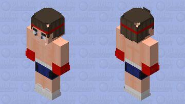Fighter 2.0 Minecraft Skin