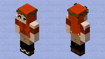 A slightly late skintober entry Minecraft Skin