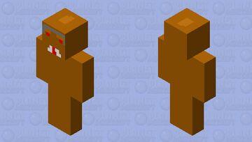 expedition everest yeti Minecraft Skin