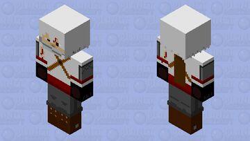 Assassin steve (Damaged) Minecraft Skin