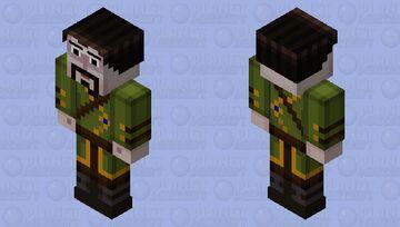 Ivor (Time-Skip) (Minecraft Story Mode) Minecraft Skin