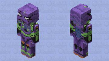 Evangelion Unit-01 Minecraft Skin