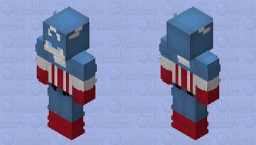 Steve Rogers/Captain America Minecraft Skin