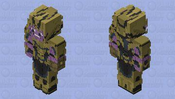 HD Thanos Minecraft Skin