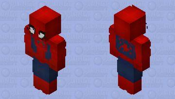 (Peter Parker/Spiderman) Minecraft Skin