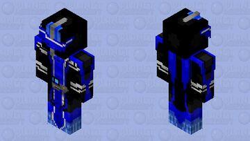 Kamen Rider Blades Lion Senki Minecraft Skin