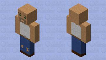 Guy in vest Minecraft Skin