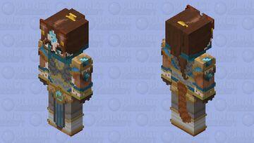Pandaren Monk - World of Warcraft - Contest entry Minecraft Skin