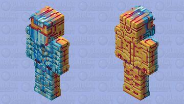 Cyber Knight Minecraft Skin