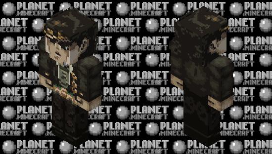 Jotaro Kujo (Stardust Crusaders) Minecraft Skin