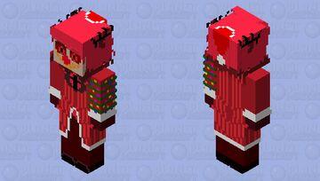 Christmas Alastor Minecraft Skin