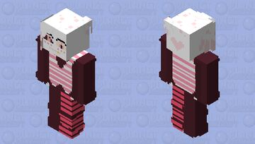 Swap!Angel Dust (swapped with Vaggie) Minecraft Skin