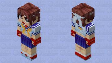 Sakura Kasugano (Better in 3D, I swear) Minecraft Skin