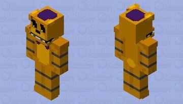 UCN Style Fredbear (128 by 128 skin) Minecraft Skin