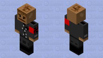Nazi monkey Minecraft Skin