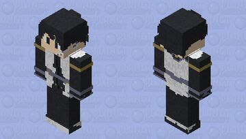 Sword Art Online Ordinal Scale  Kirigaya Kazuto Minecraft Skin