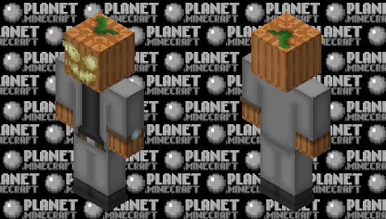 Stylish Jack-o'-lantern Minecraft Skin