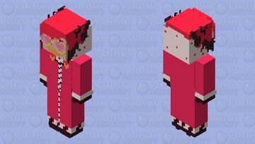 OutfitSwap!Alastor (swapped with Valentino) Minecraft Skin