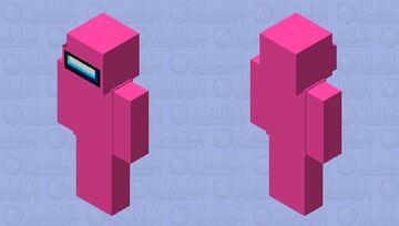 Among Us Java (Pink) Minecraft Skin