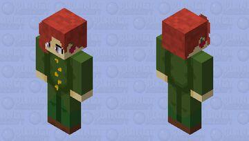 HD Kakyoin Minecraft Skin