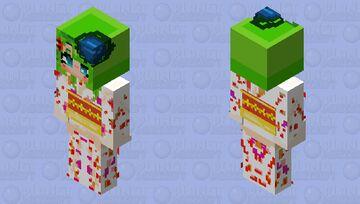 Kanna in her Kimono (Kimi ga shine) - (your turn to die) Minecraft Skin