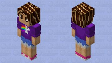Alex | HD Skin Minecraft Skin