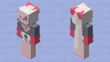 Swap!Veggie (swapped with Angel Dust) Minecraft Skin