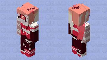 Cherri Bomb {tattoo type №1 (pilot)} | Hazbin Hotel Minecraft Skin