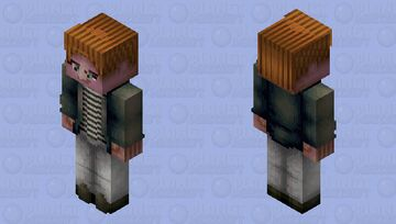 Rick Astley HD Minecraft Skin