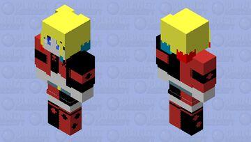Arlequina Minecraft Skin