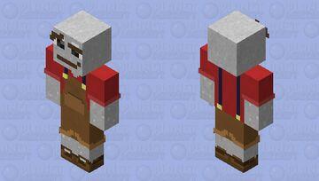 Ol' Glitter Spongie's Skinmas #2 Minecraft Skin